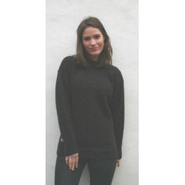 Traditionel færøsk sweater - brun