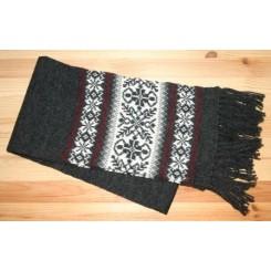 Koksgrå Norwool halstørklæde