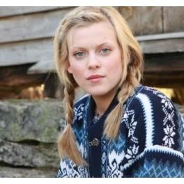 Marineblå Borgund sweater