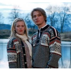 Grå Borgund sweater