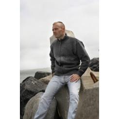 Vindtæt jakke med enkelt mønster