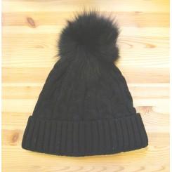 Black Kimberly hat