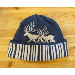 Jeansblå Stockmann - 2 rensdyr