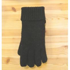 Sort ragwool handske - herre
