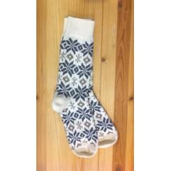 Beige sokker