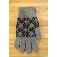 Grå handske / Model:Sanna