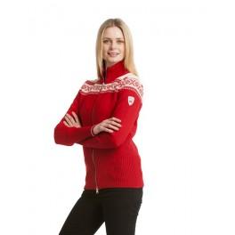 Hemsedal - rød feminin jakke