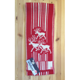 Rødt Stockmann halstørklæde