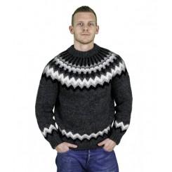 Koksgrå islandsk sweater til MÆND!
