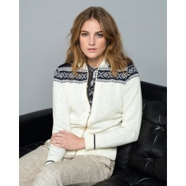 Hemsedal - råhvid feminin jakke