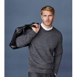 Sweater med rund hals -koks