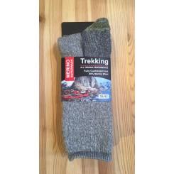 Merino wool vandre ragsok - grå