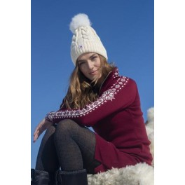 Geilo Feminine sweater - bordeaux