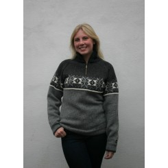 Norwool sweater - koks