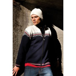 Nordlys musculine cardigan