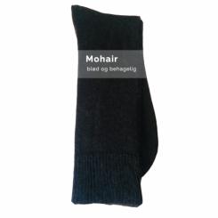 Mohair sokker/sort