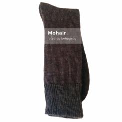 Mohair sokker/grå