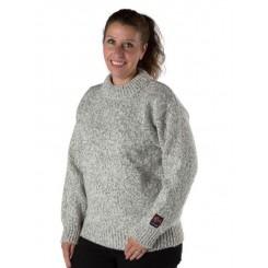 Lofoten sweater med rund hals