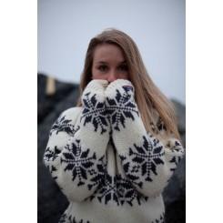 Islænder, stor stjerne - råhvid