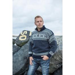 Marineblå sweater