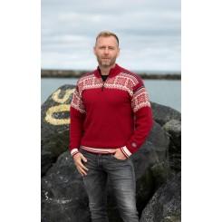 TOR sweater - bordeaux