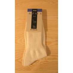 Hvide alpaca sokker