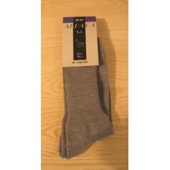 Lysegrå alpaca sokker