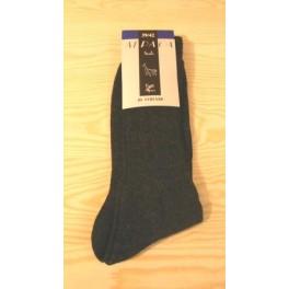 Koksgrå alpaca sokker
