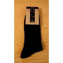 Sorte alpaca sokker