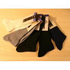 Marineblå alpaca sokker
