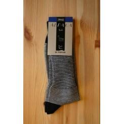 Stribet alpaca sokker
