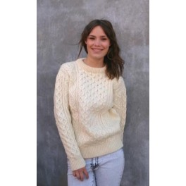 Honeycomb irsk sweater
