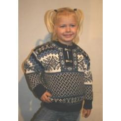 Borgund sweater med hægter