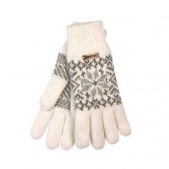 Hvid papey handske